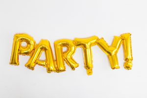 Party word art