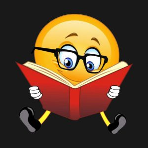 book reading emoji