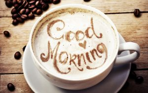 coffee good morning image