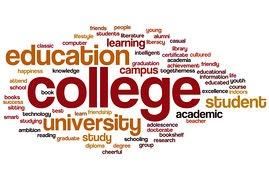 college-word-art