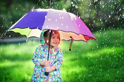 funny rainy captions