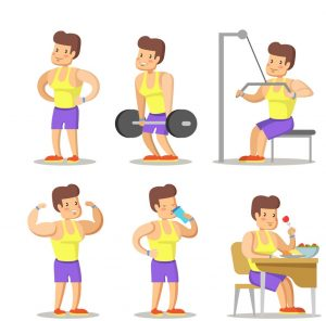 gym cartoons image