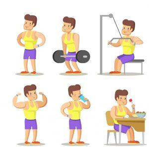 gym cartoons image