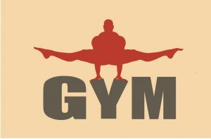 gym word art image