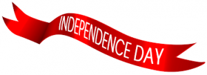 indepedance day word art
