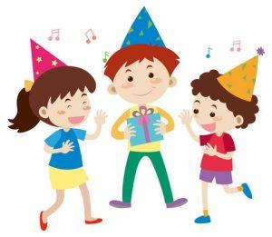 party cartoon