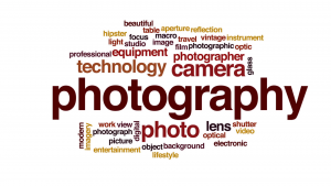 photography word art