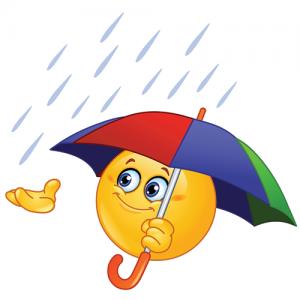 rainy day emoji