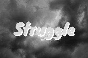 struggle word