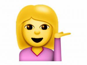 girl sassy emoji