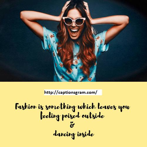 37 Best Fashion Caption For Instagram Captionsgram