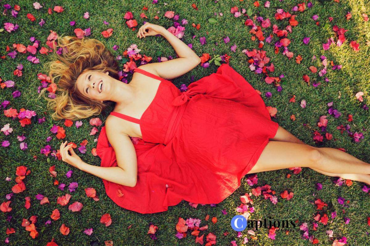 25 Red Dress Captions And Sayings For Instagram Captionsgram