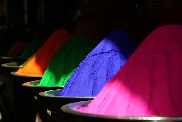 festival of colors captions