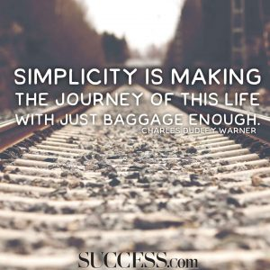 Inspirational Quotes On Simplicity