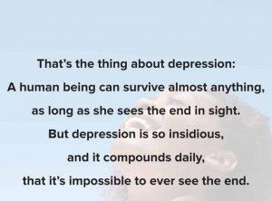 Best Depression pick up lines