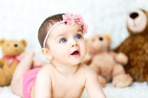 Cute Baby Girl Smile Quotes for instagram