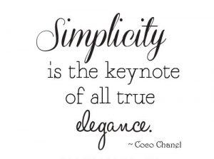 Latest Simplicity Captions
