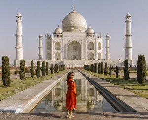 Caption For Taj Mahal Photos for instagram