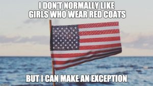 Patriotic 4th of July Pick Up Lines