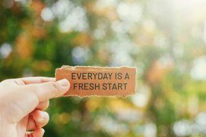 Best Fresh Start Captions
