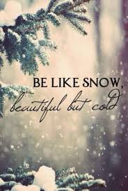 Best Snow Picture Captions For Instagram