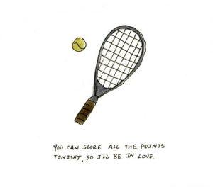 Best Tennis Pick Up Lines