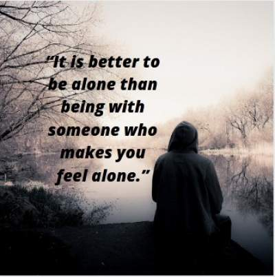 Alone Status About Life