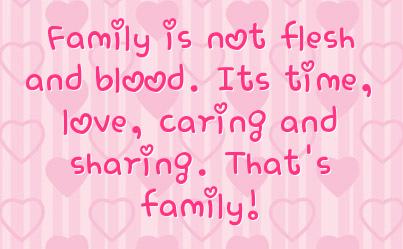 Happy Family Status Quotes