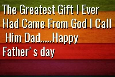 Happy Father's Day Status