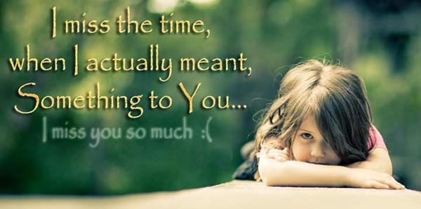 Heart Touching Miss You Statu