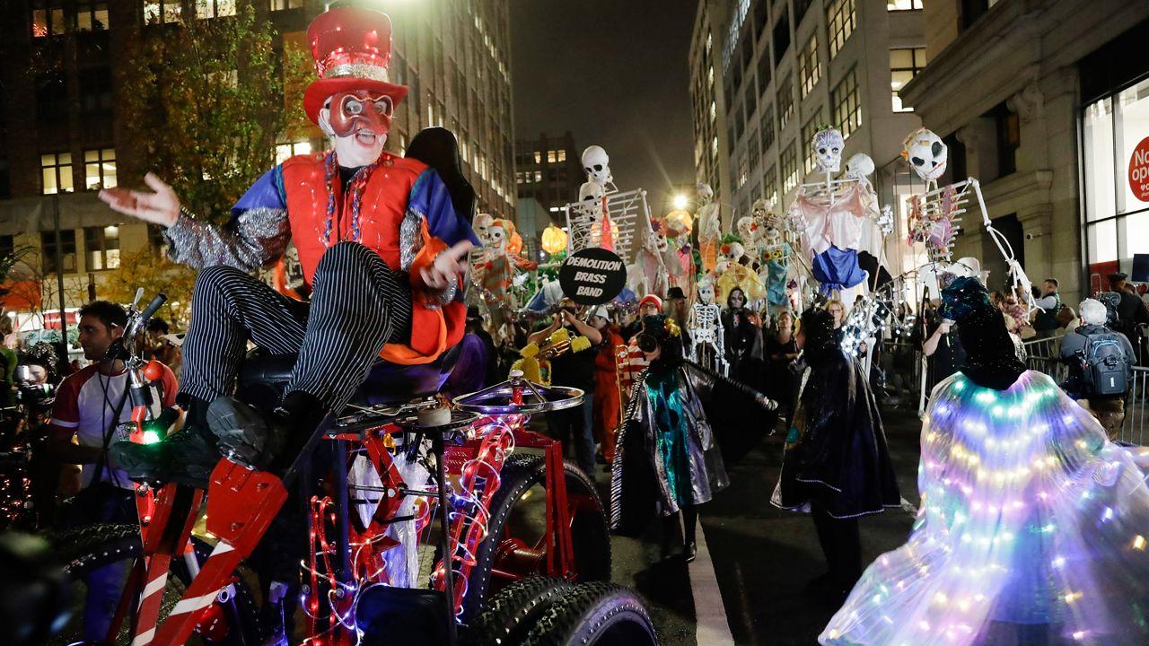 New York's Village Halloween Parade Caption for Instagram