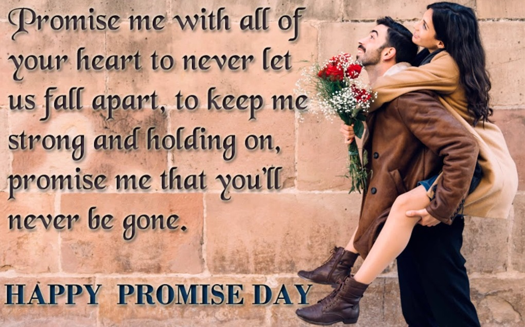 Lovely Promise Day Status & Quotes