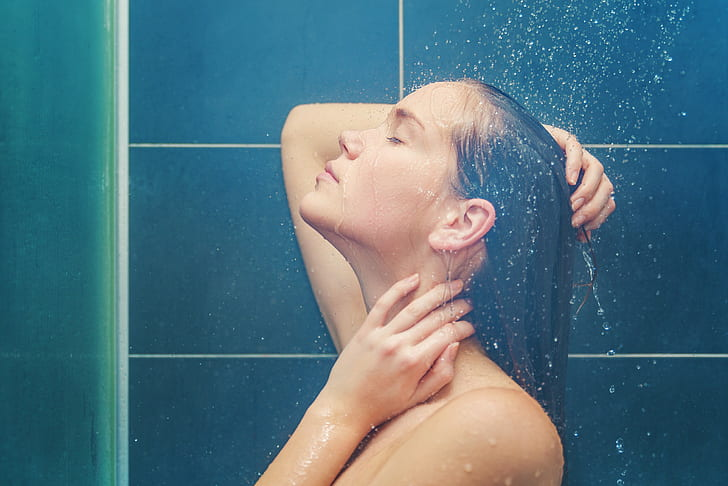 Bathing Captions