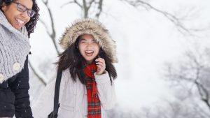 Beautiful Snow Angle Captions