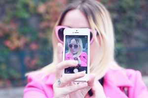 Blurry Selfie Instagram Captions
