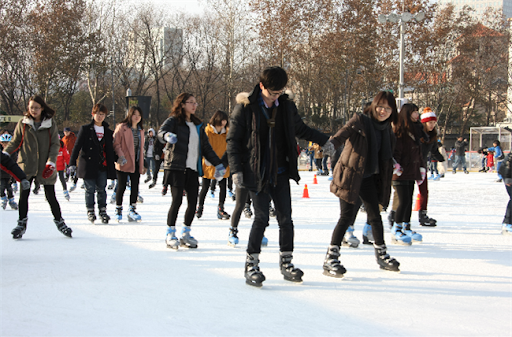 Captions For Ice Skating