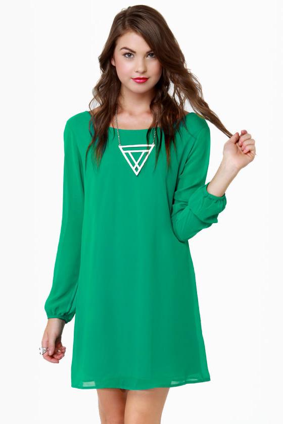 Wearing Green Captions