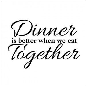 best dinner captions