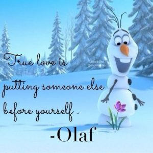 best olaf frozen captions