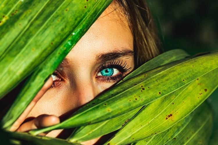 Blue Eyes Captions