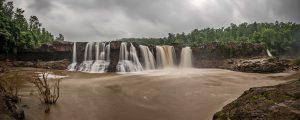 Powerful waterfall captions